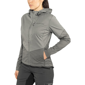 Endura Singletrack II Softshell Jas Dames, pewter grey